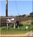 SU2197 : Parish Notices at Buscot Wick by Des Blenkinsopp