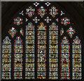 ST5545 : East Window, Wells Cathedral by Julian P Guffogg
