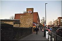 TQ1779 : South Ealing station by N Chadwick