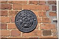 TF0733 : Listed building plaque by Bob Harvey