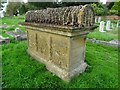 SO8936 : A bale tomb in Twyning churchyard by Philip Halling