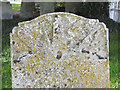 TG1901 : Headstone of Robert Spurgeon at Mulbarton by Adrian S Pye