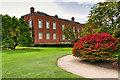 SJ7387 : Dunham Massey Hall and Lawn by David Dixon