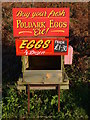 SW3632 : Wayside egg stall by Marika Reinholds