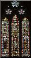 ST5545 : Window SIII, Wells Cathedral by Julian P Guffogg