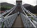 NT5434 : Crossing the Chain Bridge by Graham Hogg