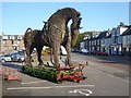NX6851 : Wicker Horse, Harbour Square by Oliver Dixon
