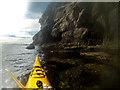 NG5412 : Paddling along the Strathaird coast by Andy Waddington