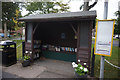 NZ3621 : Bus Shelter on the High Street,  Bishopton by Ian S
