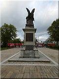 J3372 : Queen's University War Memorial (rear view) by Gerald England