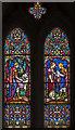 ST7851 : Stained glass window, All Saints' church, Lullington by Julian P Guffogg
