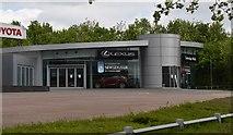 TQ5942 : Lexus Tunbridge Wells by N Chadwick