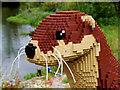 SD4214 : Lottie the Lego™ Otter at Martin Mere by David Dixon