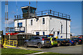 SJ4826 : WWII Shropshire: RAF Sleap - Watch Office/Control Tower (1) by Mike Searle