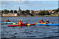 NU0052 : Kayaking on the River Tweed by Walter Baxter