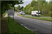 TQ5844 : Entering Tunbridge Wells, A26 by N Chadwick