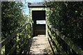 SJ9124 : Bird hide - Doxey Marshes by Stephen McKay