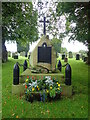 NY3254 : War Memorial, St Giles' Church, Great Orton by Eirian Evans