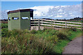 SJ9024 : Bird hide - Doxey Marshes by Stephen McKay