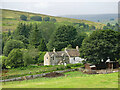 NY9442 : The Rookhope valley around Rookhope House by Mike Quinn