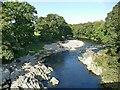 SD6178 : River Lune downstream from Devil's Bridge by Stephen Craven