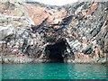 NJ9501 : Well Cove - entrance by Nigel Feilden