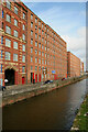 SJ8598 : Rochdale Canal and mills at Ancoats by Chris Allen