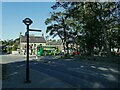 SE1743 : Direction sign, Bingley Road, Menston by Stephen Craven