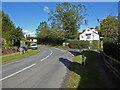 SO7560 : Road junction, Martley by Chris Allen