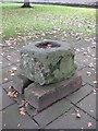 NY5129 : Old Wayside Cross near Bridge Lane, Penrith Parish by Milestone Society