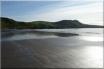 NX1390 : Beach North of Lendalfoot by Anne Burgess