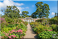 NT5034 : Walled garden, Abbotsford by Ian Capper