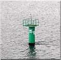 J3778 : Belfast Lough: Buoy #15 by Gerald England