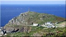 SW3531 : Cape Cornwall by Sandy Gerrard