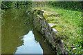 SJ9170 : Site of former swing bridge near Lyme Green, Cheshire by Roger  Kidd