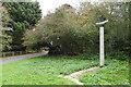 TM3961 : Sternfield village sign by Adrian S Pye