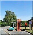 TQ6153 : K6 Telephone Box, Plaxtol by PAUL FARMER