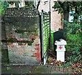 TQ4987 : Coal duty boundary marker, south side of Wood Lane by Paul Jones