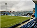 TQ7868 : The Brian Moore Stand at Priestfield Stadium by Steve Daniels