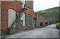 SD9321 : Jubilee Mill, Walsden by Chris Allen