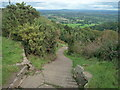SO7640 : Steps to the Herefordshire Beacon by Fabian Musto