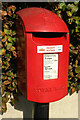 SX9355 : Priority postbox, Brixham by Derek Harper