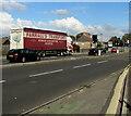 ST3090 : Farrall's Transport articulated lorry, Malpas, Newport by Jaggery