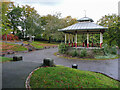 SE1214 : The bandstand, Beaumont Park, Huddersfield by Humphrey Bolton