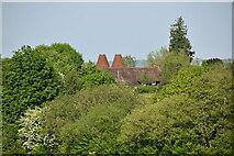 TQ6145 : Church Farm Oast by N Chadwick