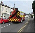 ST3090 : Fire engine, Pillmawr Road, Malpas, Newport by Jaggery