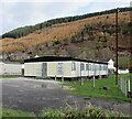 SS9389 : Ogmore Vale RFC changing rooms by Jaggery