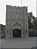TL8564 : Bury St Edmunds Abbey precincts [6] by Michael Dibb