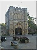 TL8564 : Bury St Edmunds Abbey precincts [7] by Michael Dibb