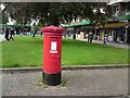 SJ9392 : Priority postbox at Woodley precinct. by Gerald England